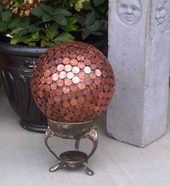 Reutilizar moedas na decoração 011