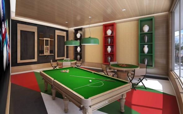Sala de jogos em casa 001