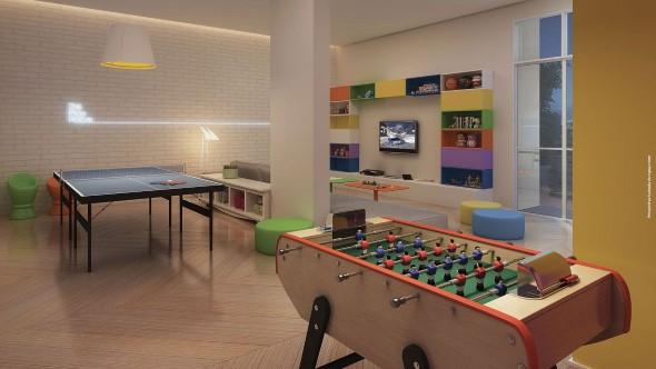 Sala de jogos em casa 002