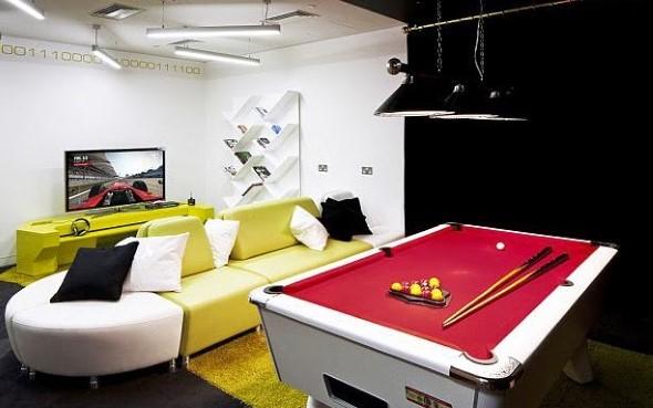 Sala de jogos em casa 004