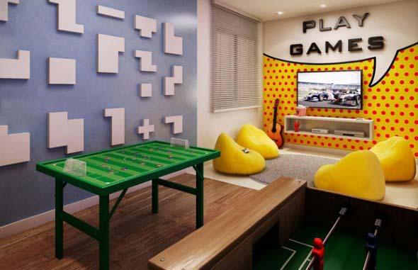Sala de jogos em casa 017