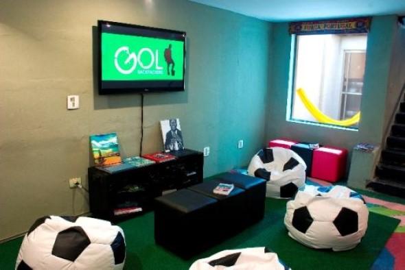 Sala de jogos em casa 018