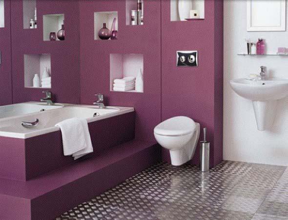 Banheiros coloridos 003