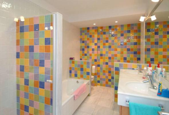 Banheiros coloridos 004