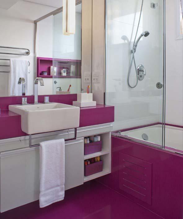 Banheiros coloridos 006