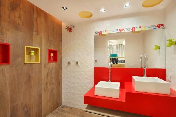 Banheiros coloridos 014