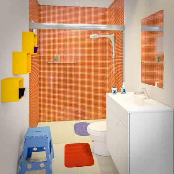 Banheiros coloridos 015