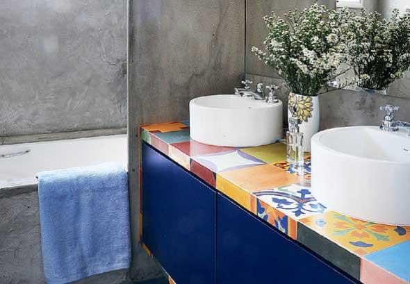 Banheiros coloridos 018