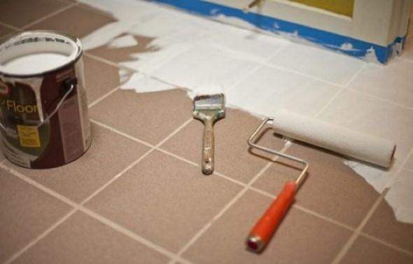 Como pintar pisos e azulejos 003