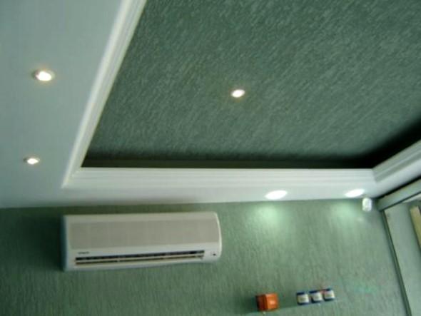 Decoração criativa no teto 014