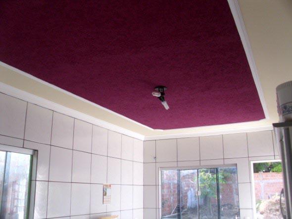 Decoração criativa no teto 015