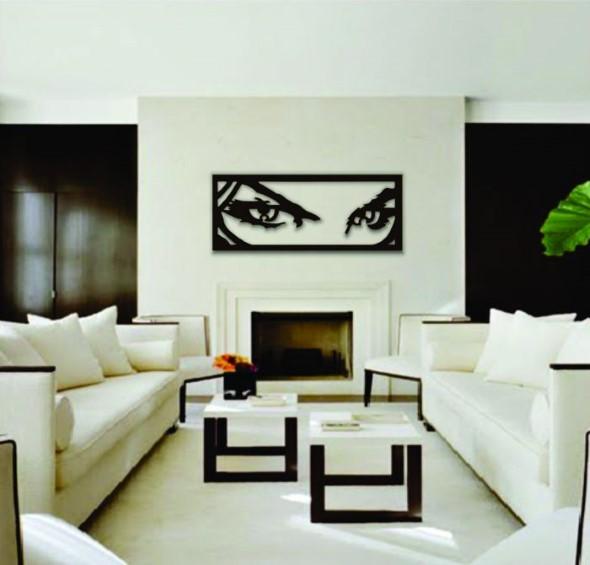 Decore sua casa com quadros vazados 004