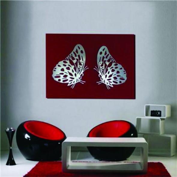 Decore sua casa com quadros vazados 014