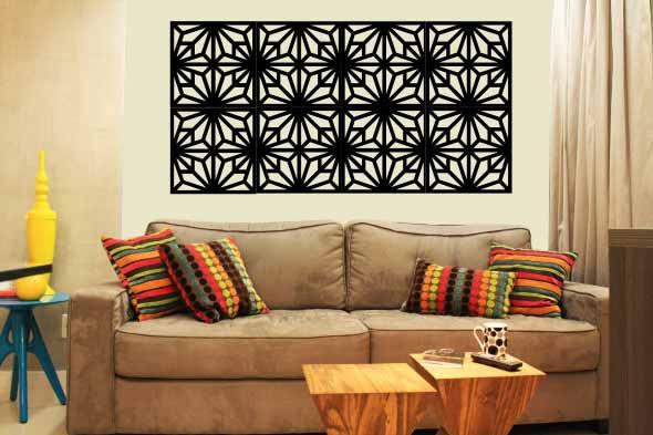 Decore sua casa com quadros vazados 018
