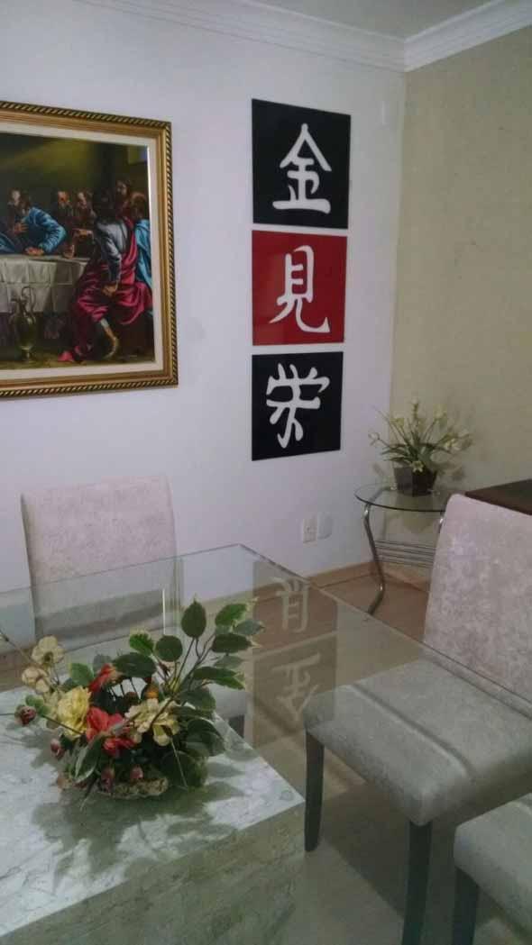 Decore sua casa com quadros vazados 021