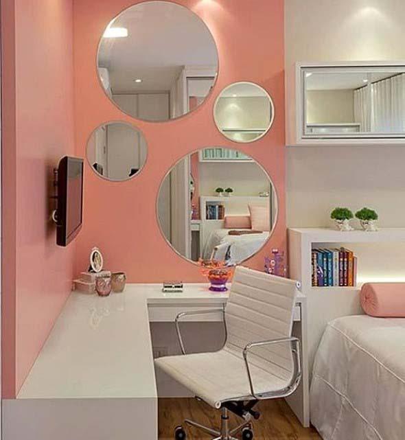 Espelhos na decoração do Home Office 002