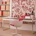Papel de parede floral na decoração 021