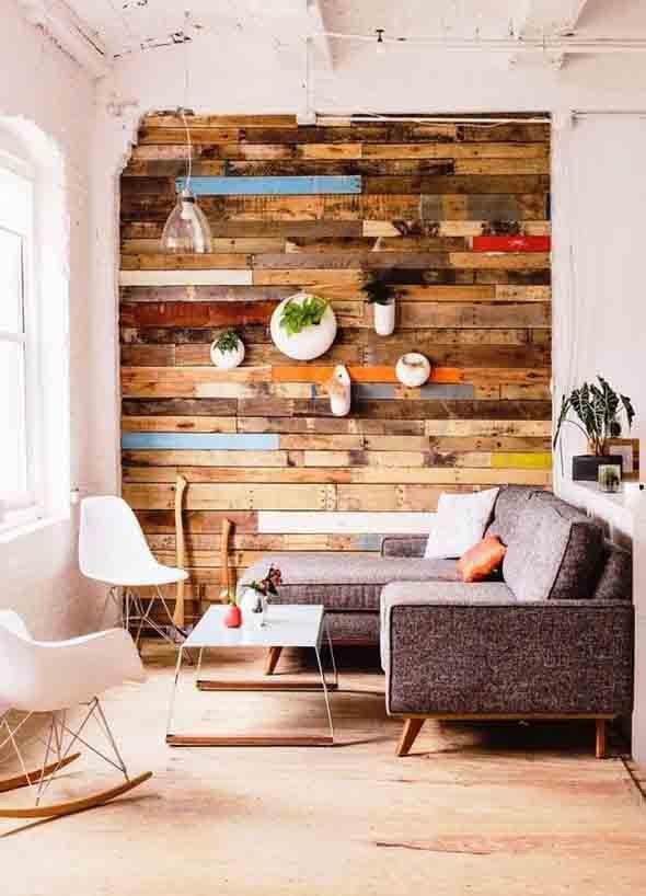 Sala de estar r stica aprenda como decorar - Fotos de salas rusticas ...