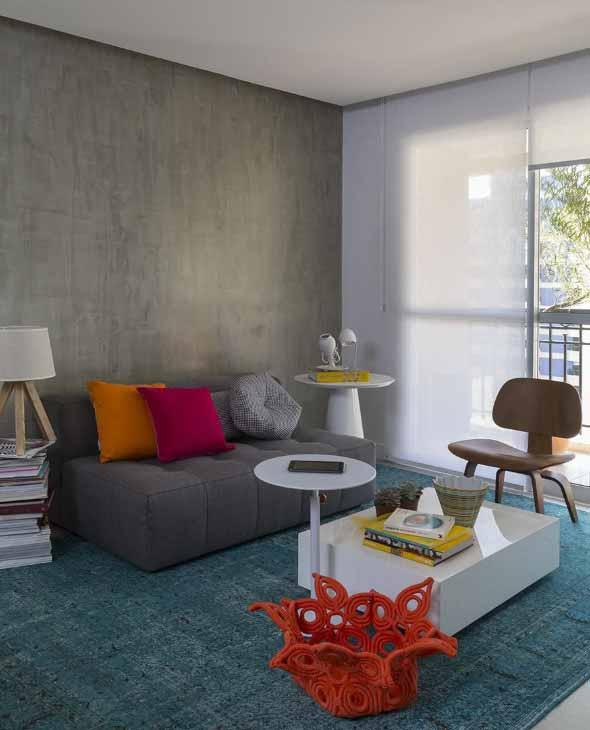 Sala de estar rústica 022