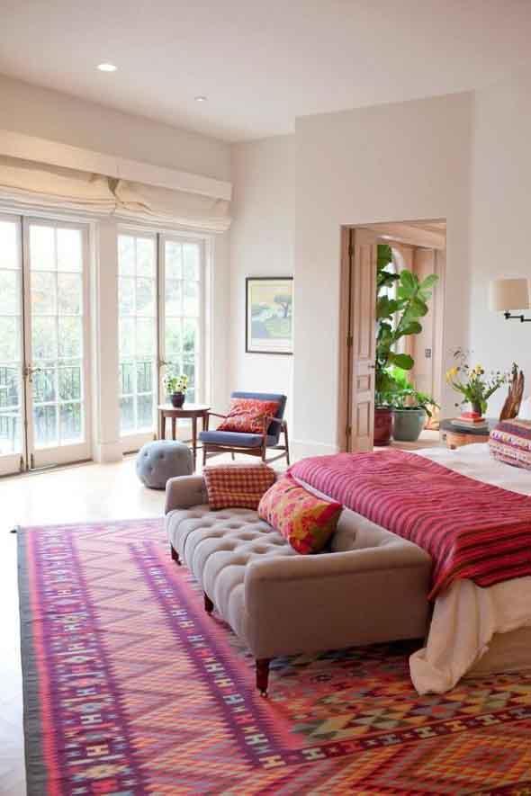 Tenha um sofá confortável em seu quarto 003