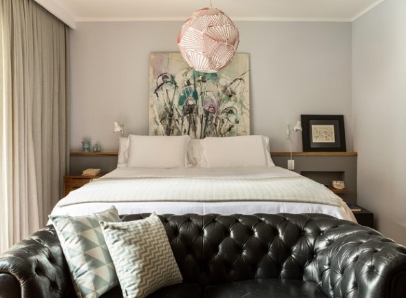 Tenha um sofá confortável em seu quarto 014