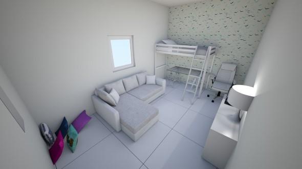 Tenha um sofá confortável em seu quarto 015