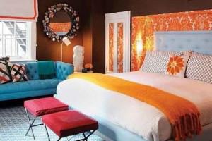 Tenha um sofá confortável em seu quarto 018