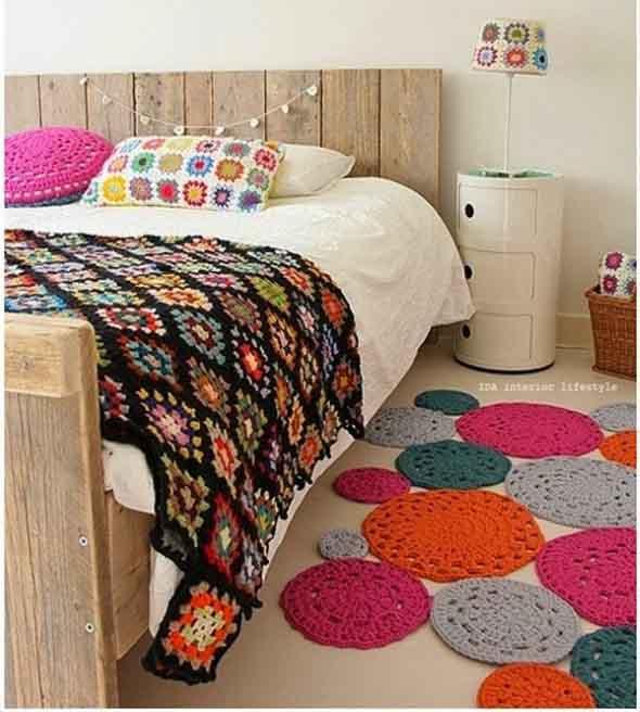 Usar crochê na decoração 013