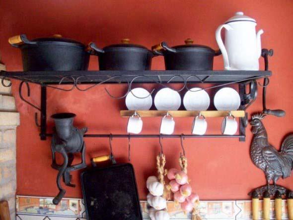 Como decorar usando peças de antiguidades 011