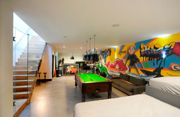 Grafite colorido na decoração 004