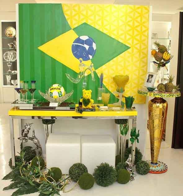 Casa decorada para Copa do Mundo 2018 004