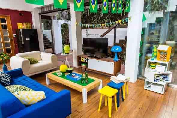 Casa decorada para Copa do Mundo 2018 015