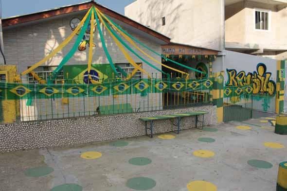 Casa decorada para Copa do Mundo 2018 018