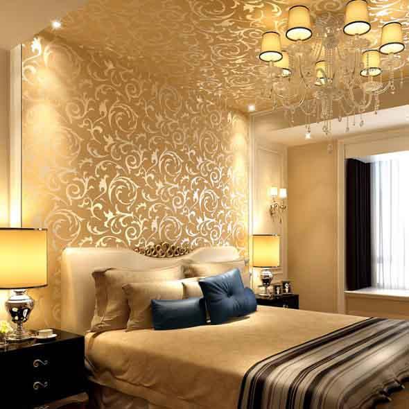 Dourado na decoração 014