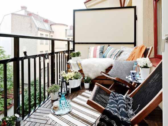 Ideias para deixar sua varanda relax 006