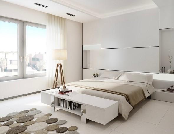 Como decorar com estilo minimalista 008