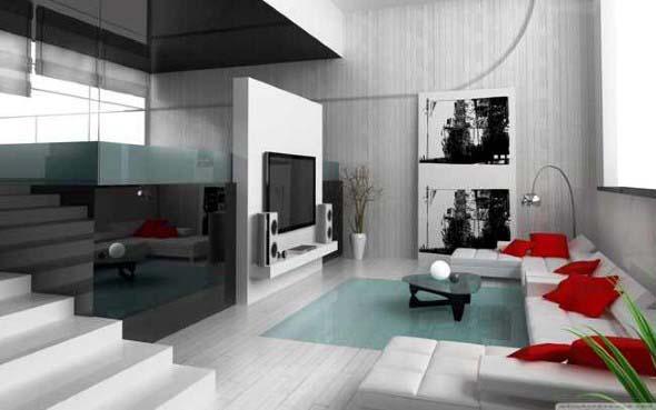 Como decorar com estilo minimalista 020