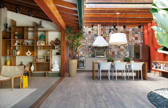 Cozinha externa 006