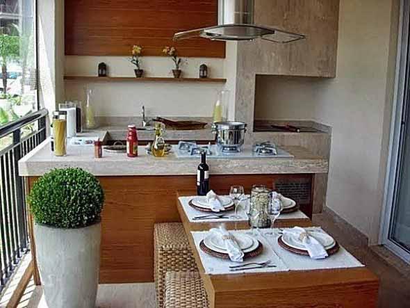 Cozinha externa 010