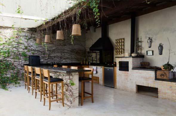 Cozinha externa 012