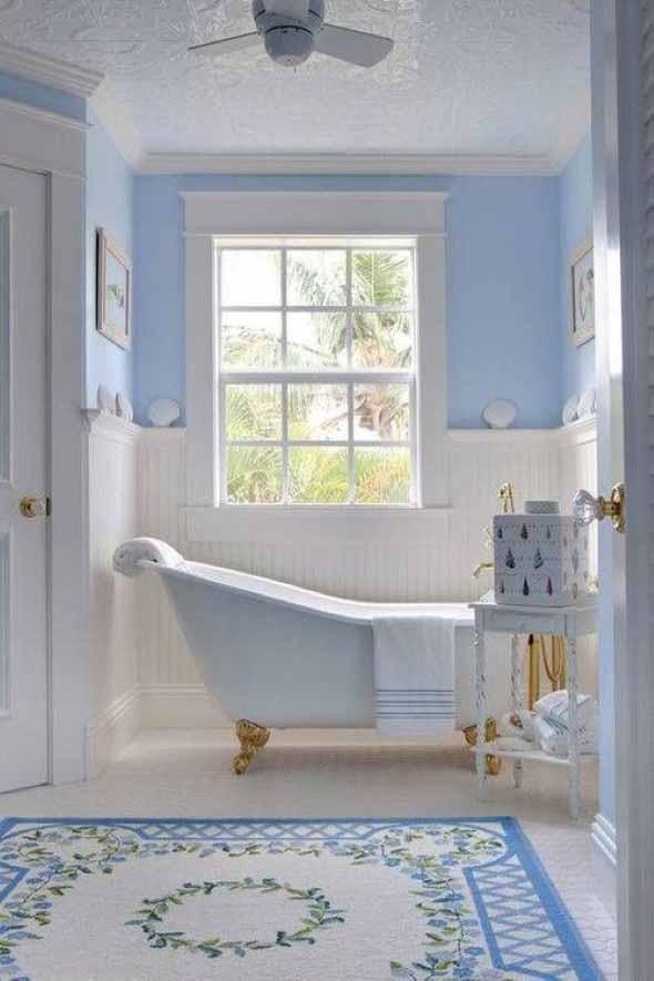 Decoração com banheiras antigas 002