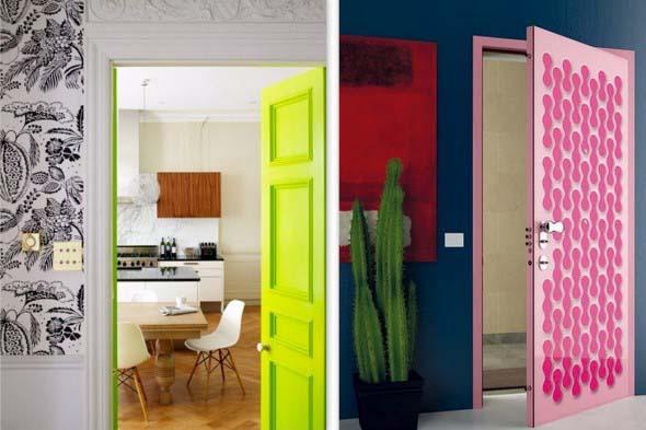 Decorar com portas coloridas 016