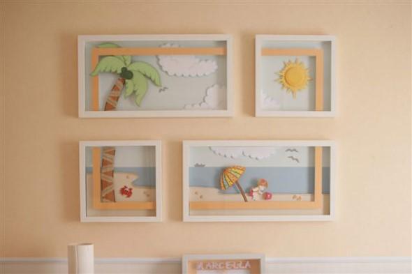 Decorar quarto de bebê em estilo praia 003