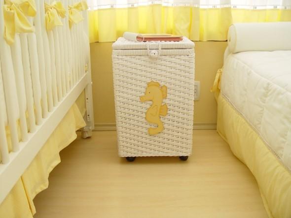 Decorar quarto de bebê em estilo praia 004