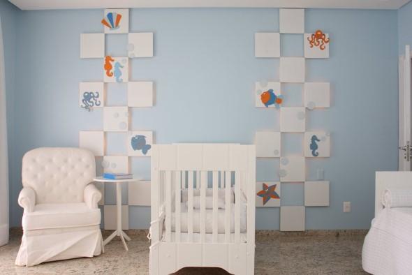 Decorar quarto de bebê em estilo praia 008