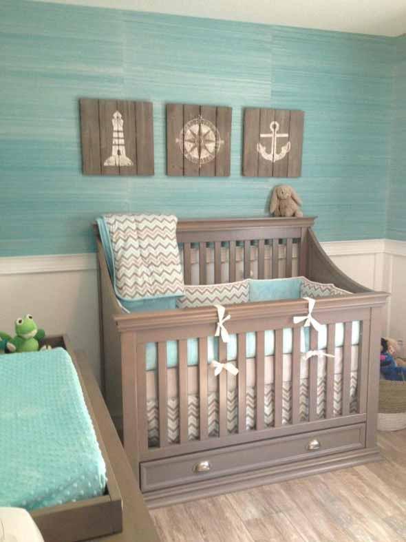 Decorar quarto de bebê em estilo praia 010