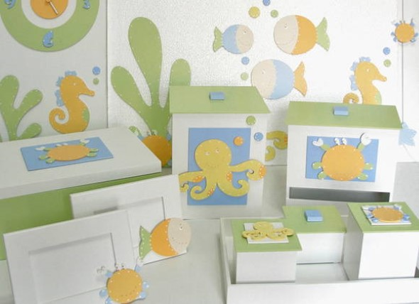 Decorar quarto de bebê em estilo praia 016