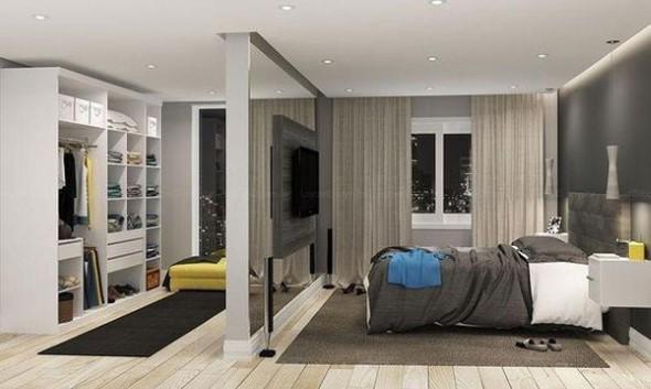 Dividir o quarto em dois ambientes 002