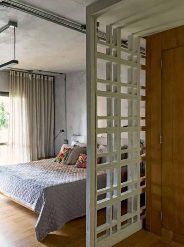 Dividir o quarto em dois ambientes 012