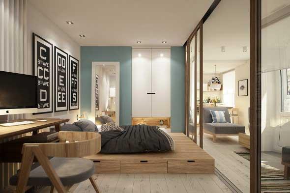Dividir o quarto em dois ambientes 018